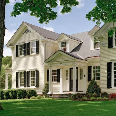 Colonial Comfort - Jan Gleysteen Architects, Inc.