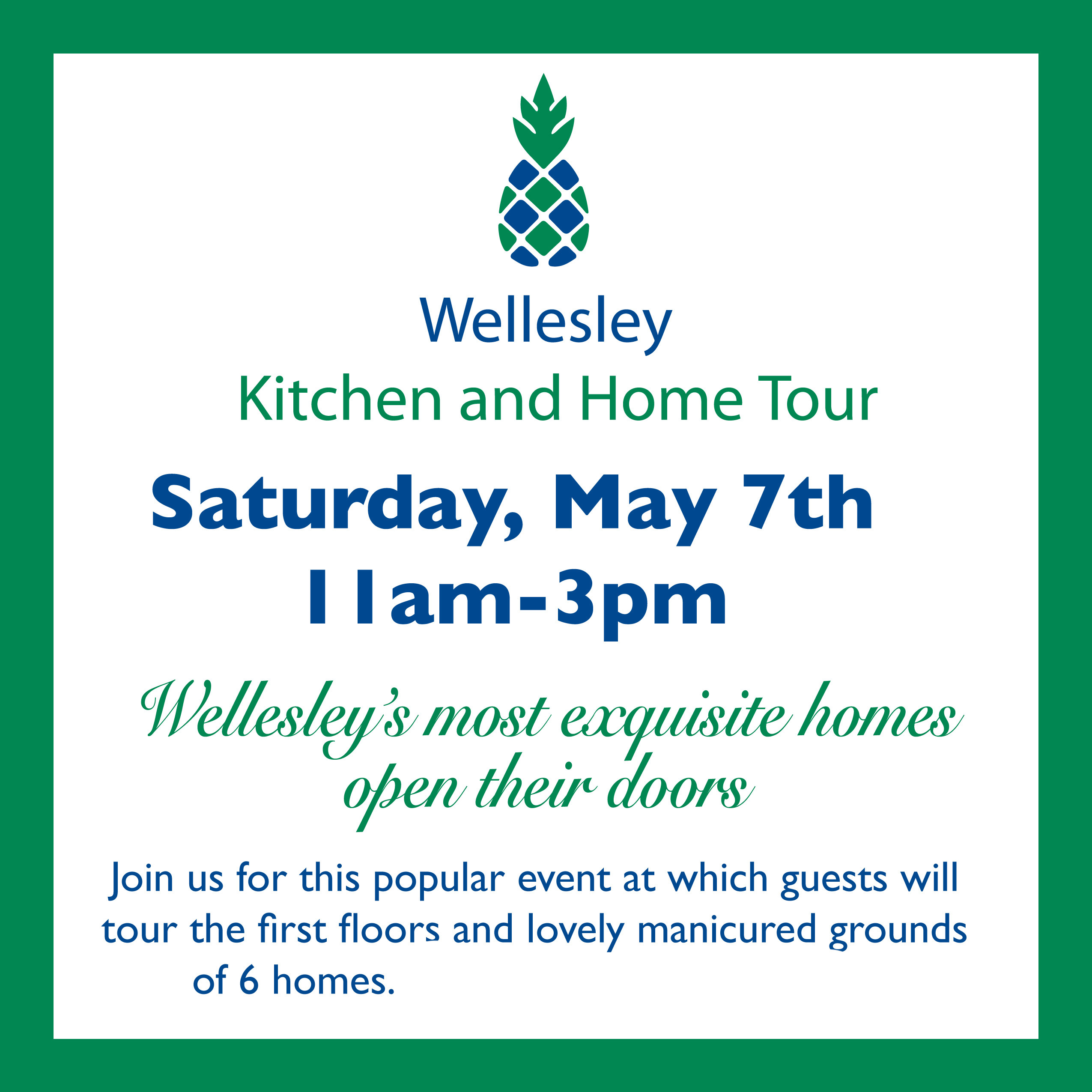 Wellesley Kitchen Tour