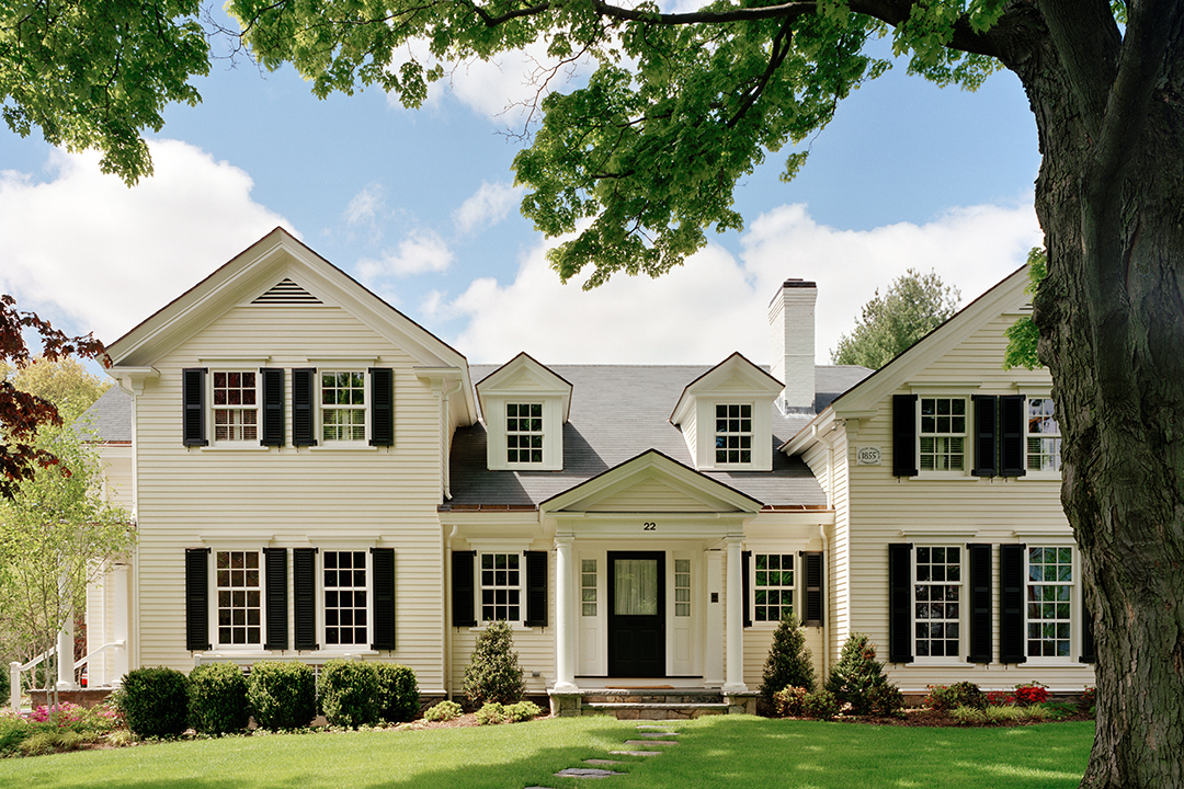Colonial Comfort - Jan Gleysteen Architects, Inc.